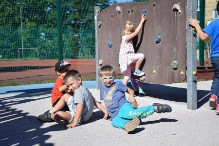 Wrześniowe harce przedszkolaków