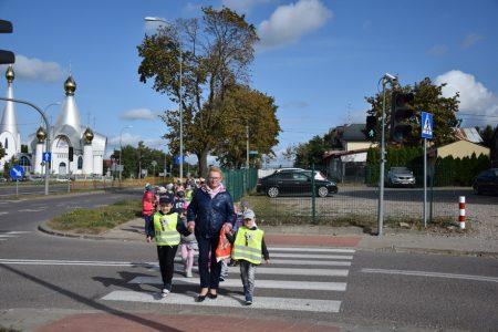 Wycieczka na skrzyżowanie ulic