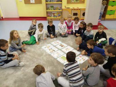 Wokół praw dziecka – zajęcia w grupie I – JEŻYKI