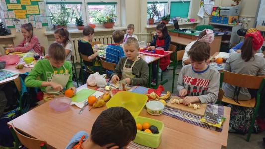 Śniadanie Daje Moc w klasach I-III