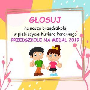 Zachęcamy do głosowania na Przedszkole Roku 2019