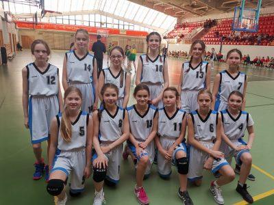 Półfinał Wojewódzkich Igrzysk Dzieci w koszykówce