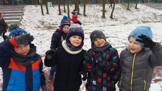 Zimowy spacer grupy II – Sówki