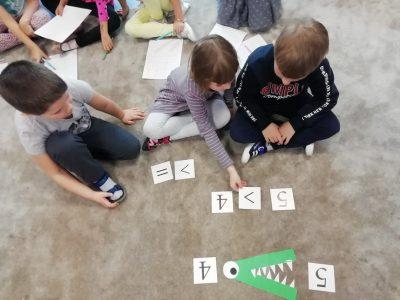 Matematyka na wesoło w grupie III – MISIE