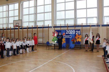 Rozpoczęcie roku szkolnego 2020/2021 i pasowanie na uczniów pierwszoklasistów