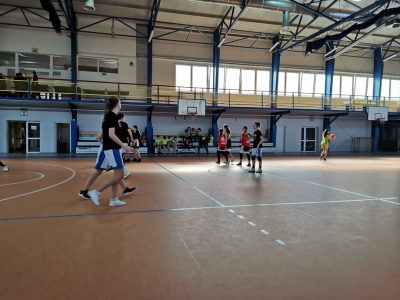 Finał wojewódzki IMS w koszykówce 3 na 3 dziewcząt