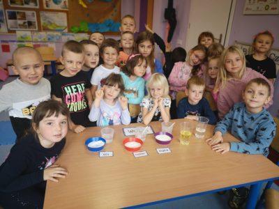 Zabawy badawcze przedszkolaków