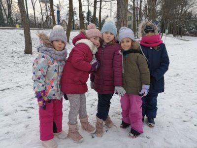 Zimowe zabawy grupy III – MISIE